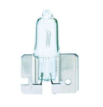 Лампа автомобильная галогенная Philips Vision, для противотуманных фар, цоколь H2 (X511), 12V, 55W12311C1Автомобильная галогенная лампа Philips Vision произведена из запатентованного кварцевого стекла с УФ фильтром Philips Quartz Glass. Кварцевое стекло Philips в отличие от обычного твердого стекла выдерживает гораздо большее давление смеси газов внутри колбы, что препятствует быстрому испарению вольфрама с нити накаливания. Кварцевое стекло выдерживает большой перепад температур, при попадании влаги на работающую лампу изделие не взрывается и продолжает работать. Лампы Philips Vision дают на 30% больше света по сравнению со стандартными лампами. Они создают превосходный световой поток, отличаются приемлемой ценой и соответствуют стандартам качества для оригинального оборудования. Благодаря улучшенному распределению света лампы Philips Vision способны освещать дорогу на большем расстоянии, повышая безопасность и комфорт вождения. Автомобильные галогенные лампы Philips удовлетворят все нужды автомобилистов: дальний свет, ближний свет, передние противотуманные фары,...
