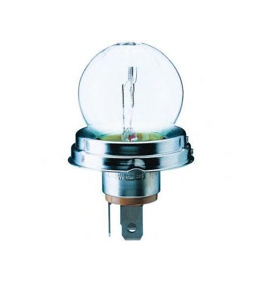 Автомобильная лампа накаливания R2 24V-55/50W (P45t) 13620C113620C1Лампа накаливания Philips R2 24V- 55/50W (P45t). 13620C1 предназначена для ближнего и дальнего света фар. Уже в течение 100 лет компания Philips остается в авангарде автомобильного освещения, внедряя технологические инновации, которые впоследствии становятся стандартом для всей отрасли. Сегодня каждый второй автомобиль в Европе и каждый третий в мире оснащены световым оборудованием Philips. Напряжение: 24 вольт.