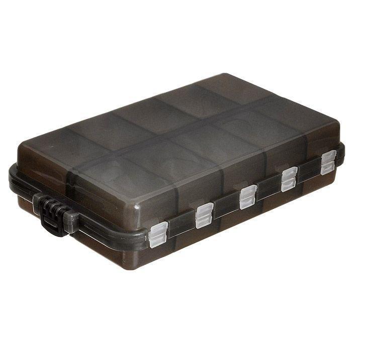 Коробочка для мелочей Три кита, двухсторонняя, цвет: серый, 16 см х 9,5 см х 3,5 см8952977Удобная пластиковая коробка Три кита прекрасно подойдет для хранения и транспортировки различных мелочей. Коробка имеет 20 фиксированных отделений. Удобный и надежный замок-защелка обеспечивает надежное закрывание коробки. Такая коробка поможет держать вещи в порядке.