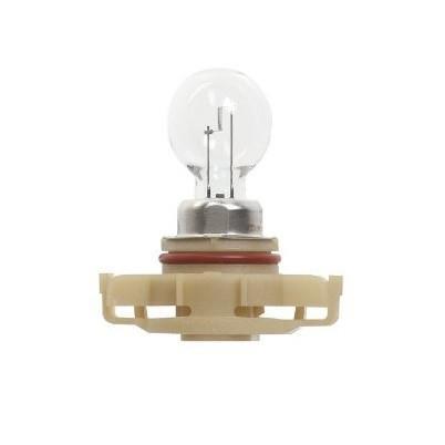 Лампа автомобильная галогенная сигнальная Philips HiPerVision, цоколь PSX24W (PG20/7), 12V, 24W12276C1Автомобильная лампа Philips Vision изготовлена из запатентованного кварцевого стекла с УФ-фильтром Philips Quartz Glass. Кварцевое стекло в отличие от обычного стекла выдерживает гораздо большее давление и больший перепад температур. При попадании влаги на работающую лампу, лампа не взрывается и продолжает работать. Лампа Philips Vision производит на 30% больше света по сравнению со стандартной лампой, благодаря чему стоп-сигналы или указатели поворота будут заметны с большего расстояния. Применение лампы: - передний указатель поворота; - задний указатель поворота; - фонарь подсветки государственного регистрационного знака; - задний противотуманный фонарь; - габаритный фонарь/стояночный фонарь; - стоп-сигнал; - дневные ходовые огни; - задний фонарь. Лампа Philips Vision отличается высокой эффективностью, соответствуя всем современным требованиям.