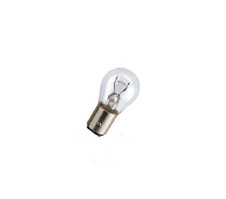 Лампа автомобильная галогенная сигнальная Philips LongLife EcoVision, цоколь P21/5W (BAY15d), 12V, 21/5W, 2 шт12499LLECOB2 (бл.)Автомобильная галогенная сигнальная лампа Philips LongLife EcoVision изготовлена из кварцевого стекла, устойчивого к УФ-излучению. Такое стекло обладает более высокой прочностью (по сравнению с тугоплавким стеклом) и отличается высокой устойчивостью к перепадам температур и вибрации. Например, при попадании влаги на работающую лампу изделие не взрывается и продолжает работать. Лампы выдерживают высокое внутреннее давление, поэтому такое кварцевое стекло обеспечивает более мощный свет. Срок службы лампы Philips LongLife EcoVision в 4 раза больше, чем у стандартной лампы, поэтому ее выбирают водители, которые хотят сократить затраты на техническое обслуживание своих автомобилей. С лампами LongLife EcoVision водителям не нужно беспокоиться о замене ламп для головного освещения на протяжении 100 000 км. Автомобильные галогенные лампы Philips удовлетворят все нужды автомобилистов: дальний свет, ближний свет, передние противотуманные фары, передние и боковые указатели...