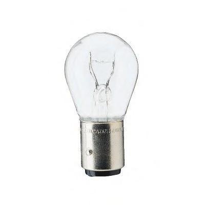 Лампа автомобильная галогенная сигнальная Philips Vision, цоколь BAZ15d, 12V, 21/4W, 2 шт12594B2 (бл.)Автомобильная лампа Philips Vision изготовлена из запатентованного кварцевого стекла с УФ-фильтром Philips Quartz Glass. Кварцевое стекло в отличие от обычного стекла выдерживает гораздо большее давление и больший перепад температур. При попадании влаги на работающую лампу, лампа не взрывается и продолжает работать. Лампа Philips Vision производит на 30% больше света по сравнению со стандартной лампой, благодаря чему стоп-сигналы или указатели поворота будут заметны с большего расстояния. Применение лампы: - передний указатель поворота; - задний указатель поворота; - фонарь подсветки государственного регистрационного знака; - задний противотуманный фонарь; - габаритный фонарь/стояночный фонарь; - стоп-сигнал; - дневные ходовые огни; - задний фонарь. Лампа Philips Vision отличается высокой эффективностью, соответствуя всем современным требованиям.