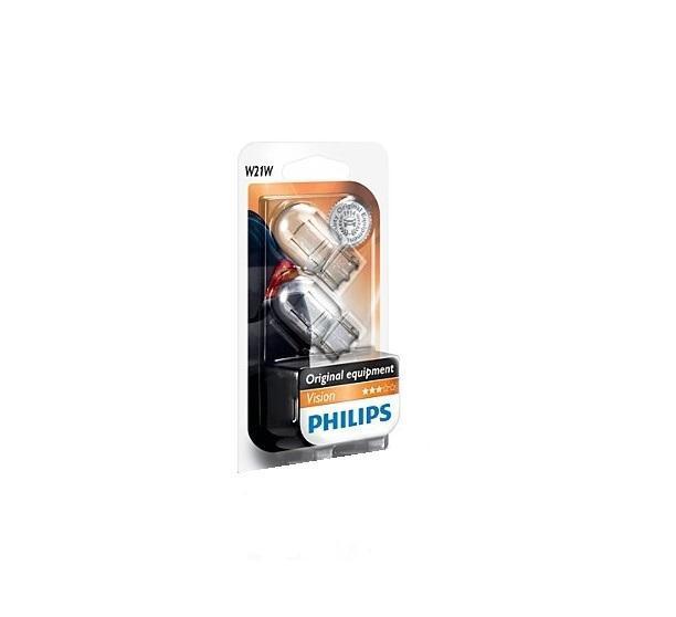 ���������� ������������� ����� Philips W21W 12V-21W (W3x16d) (������� 2��.). 12065B2 (��.) - Philips12065B2 (��.)Philips Automotive ���������� ������ � ������ �������� � ������ �� ����� ������������ ������������� � ��������������� ������������ �����������. ���� �������� ������������ �� ������������������ ���������� � ������������� ����� ������� ����������, ����� ���������� ������������ ������������ � ���������� �������� ��� ��������������. ��� ��������� �������� ���������� ������������, �������� � ������������ (ISO 9001, ISO 14001 � QSO 9000) � ������������ � ������ �������� ������������ ECE. ����������: 12 �����