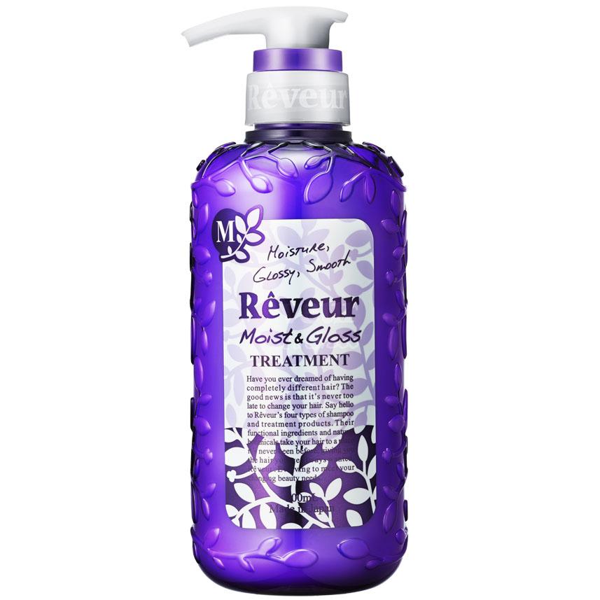 Reveur Кондиционер для волос Увлажнение и Блеск, 500 мл