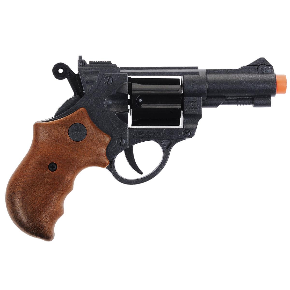 Пистолет Jeff Watson0459/26Пистолет Jeff Watson - Стильный игрушечный 6-зарядный пистолет, мечта любого мальчишки! Пистолет выполнен из пластика. Емкость магазина - 6 пулек. В комплект с пистолетом входят 10 пулек Итальянская компания Edison Giocattoli производит лучшие детские пистолеты и мишени для активных игр для мальчиков.