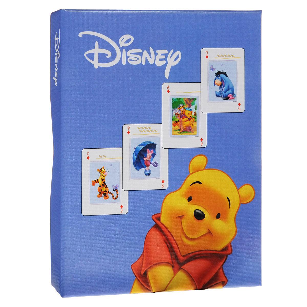 Коллекционные игральные карты Винни-Пух, цвет: сиреневый, 55 шт. 15991599