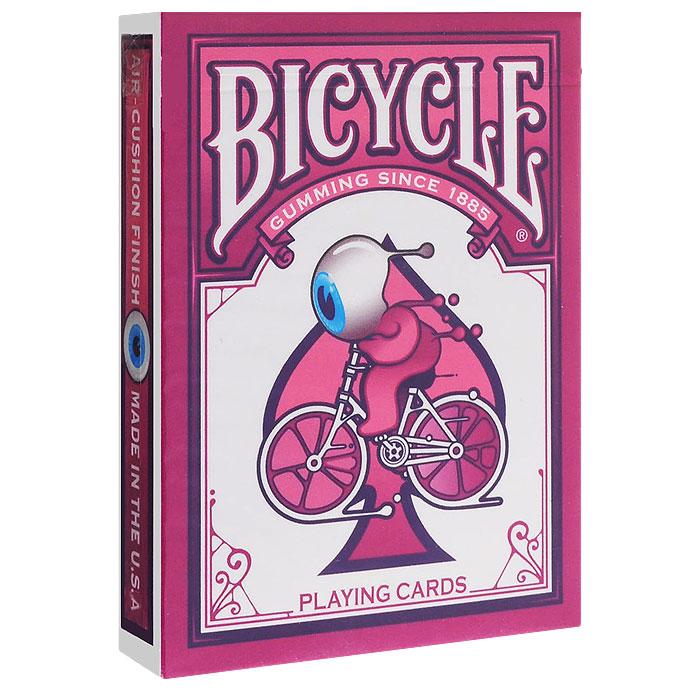 Карты игральные коллекционные Bicycle Street Art, цвет: розовый, 54 карты. 91179117