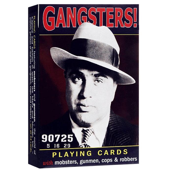 Карты игральные коллекционные Piatnik Гангстеры, цвет: синий, 55 карт. 11621162