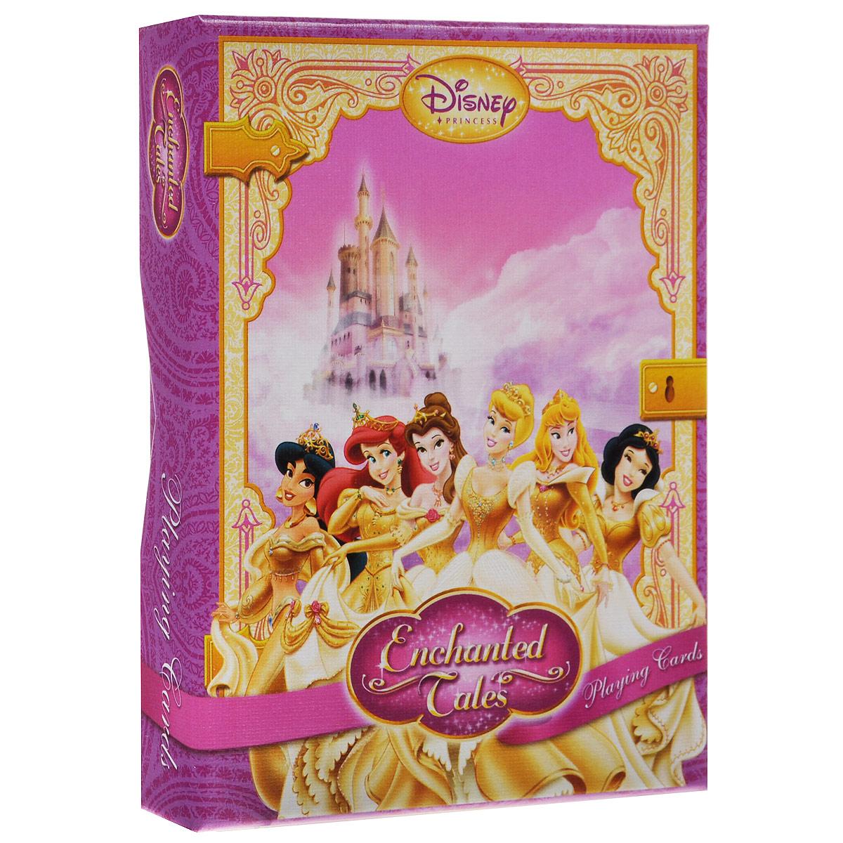 Коллекционные игральные карты Маленькие принцессы, цвет: розовый, 55 шт. 15861586