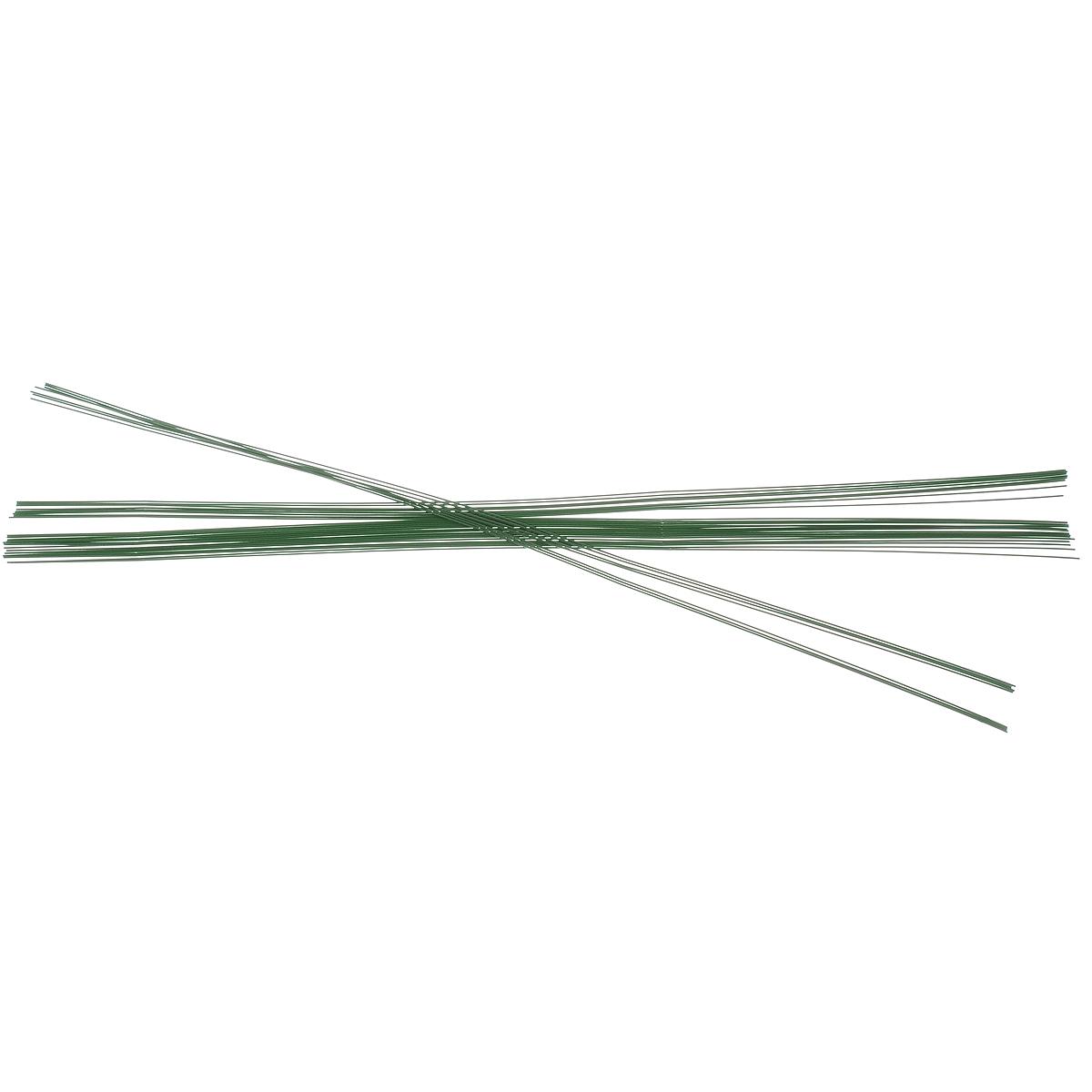 Проволока для флористики Hobby Time, цвет: зеленый, диаметр 1,2 мм, длина 50 см, 20 шт7705235Проволока для флористики Hobby Time выполнена из высококачественного металла и используются в качестве поддерживающего материала и для изготовления аксессуаров, декораций в цветочной композиции. Флористическая проволока один из самых востребованных и необходимых материалов для создания композиций из растений. Она станет незаменимым аксессуаром для каждого фитодизайнера для реализации своих идей!