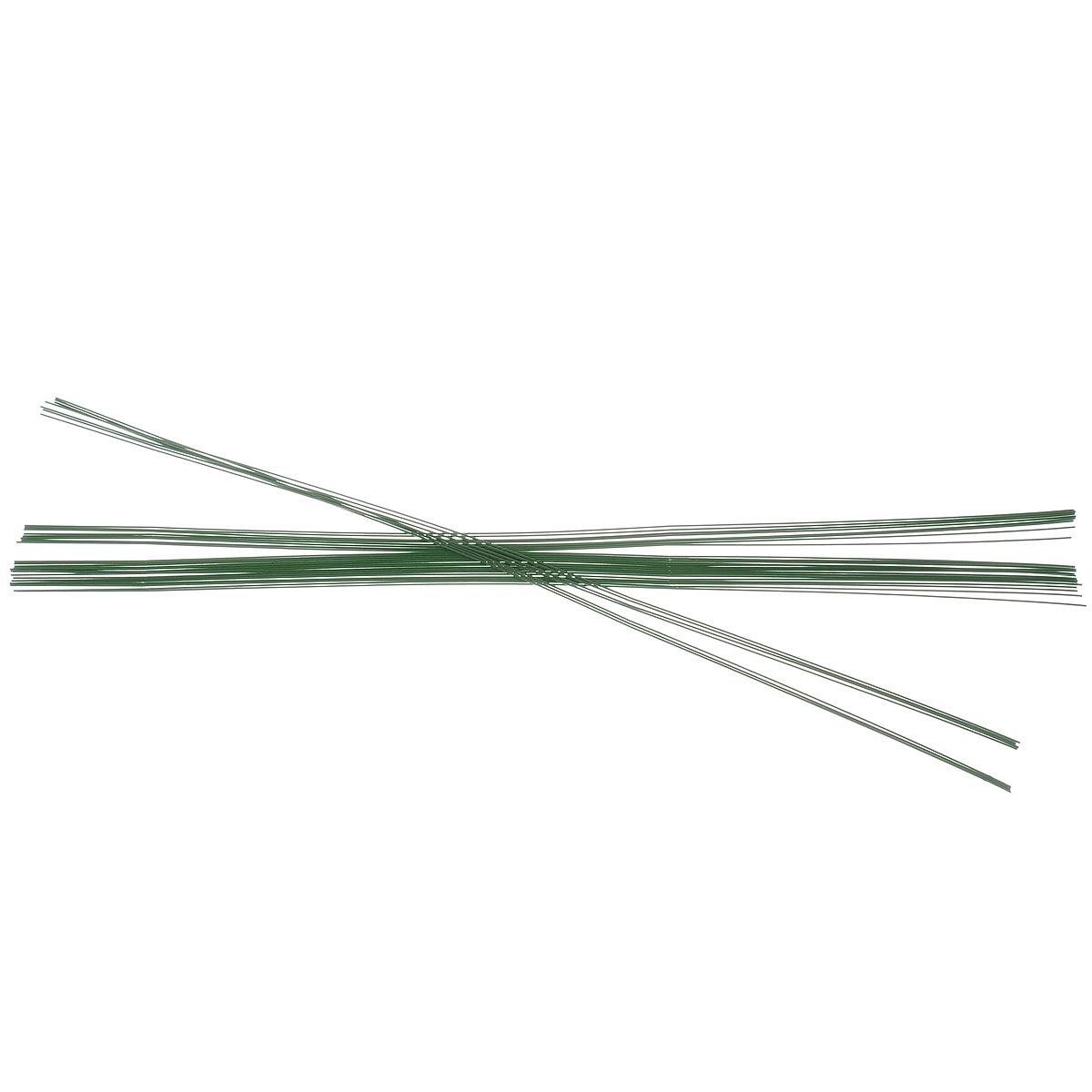 Проволока для флористики Hobby Time, цвет: зеленый, диаметр 0,8 мм, длина 40 см, 35 шт7705241Проволока для флористики Hobby Time выполнена из высококачественного металла и используется в качестве поддерживающего материала и для изготовления аксессуаров, декораций в цветочной композиции. Флористическая проволока один из самых востребованных и необходимых материалов для создания композиций из растений. Она станет незаменимым аксессуаром для каждого фитодизайнера для реализации своих идей!