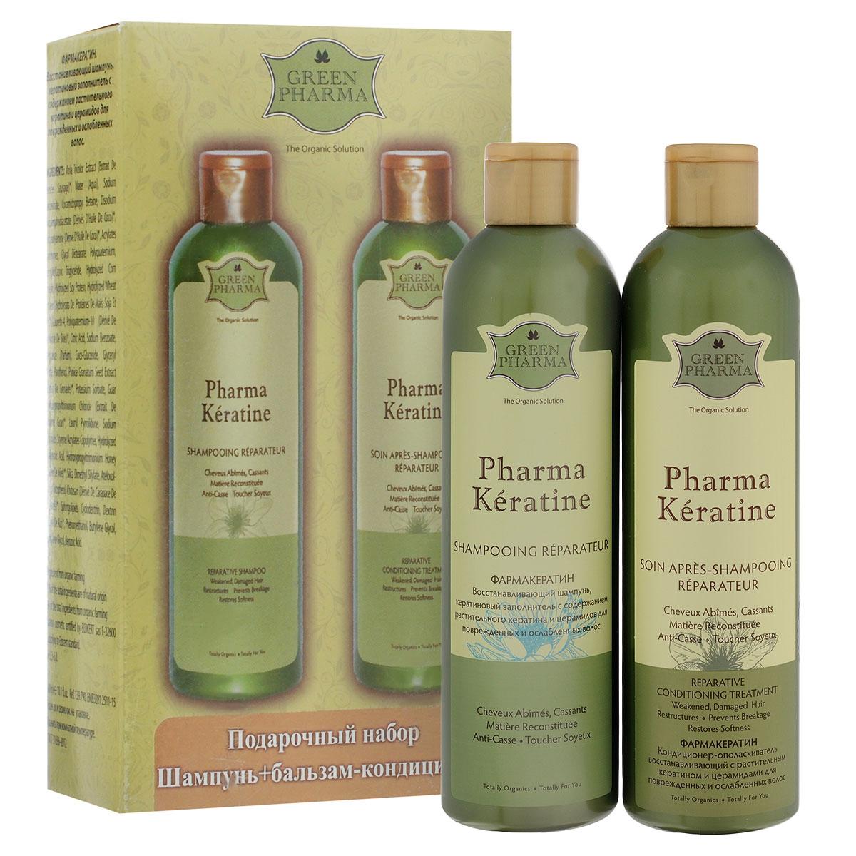 Greenpharma Подарочный набор №1: шампунь