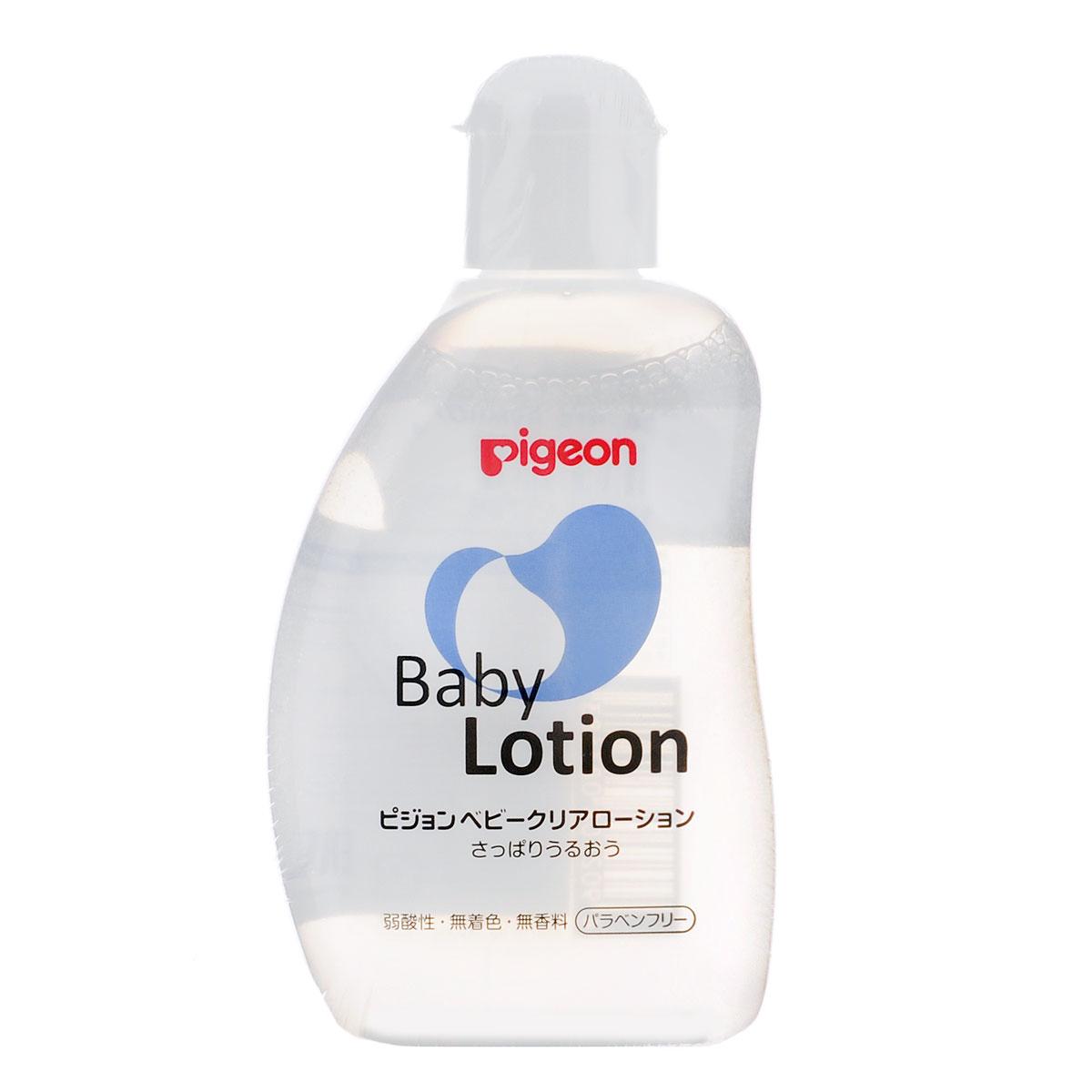 PIGEON Лосьон увлажняющий детский 120мл08260/08368Лосьон Pigeon подходит для ежедневного ухода за малышом с рождения. Основные преимущества: Содержит увлажняющие компоненты: керамиды, удерживающие влагу в коже, аминокислоты, гиалуроновую кислоту для эластичности кожи. Не содержит красителей и фосфора. Не раздражает кожу рук. Уровень кислотности (рН 5,6) такой же, как на коже щеки младенца. Товар сертифицирован.