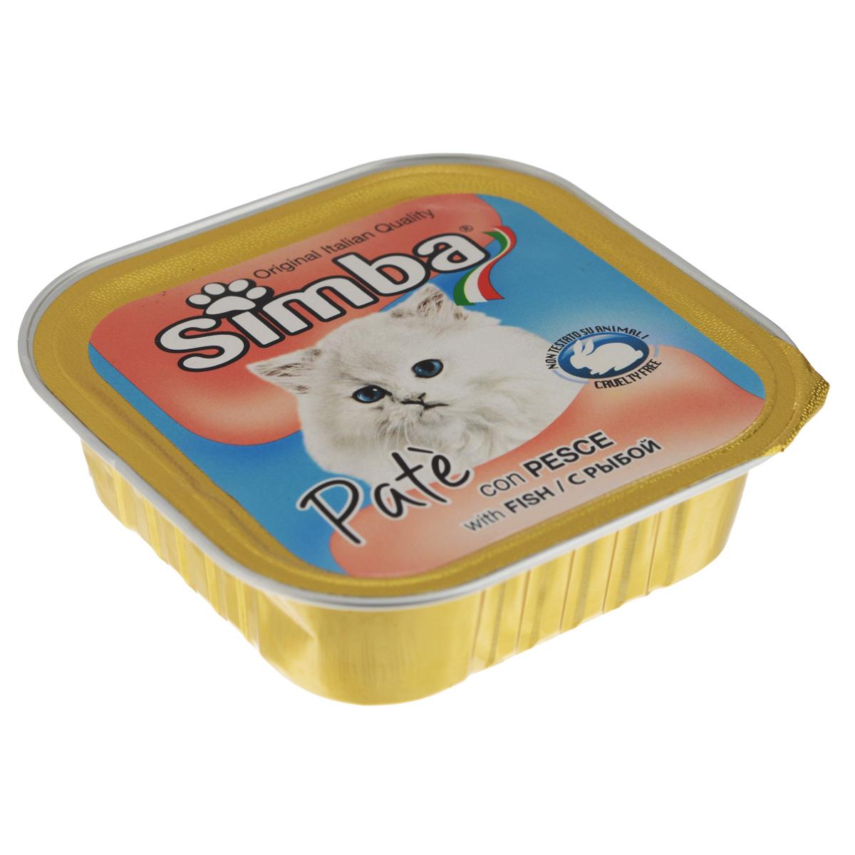 Консервы Monge Simba для взрослых кошек, паштет с рыбой, 100 г70009232Консервы Monge Simba - полнорационный корм для взрослых кошек. Без добавления консервантов и антиоксидантов. Экологически чистое производство гарантирует высочайшее качество и длительные сроки хранения консервов. Тщательный отбор сырья и содержащийся в нем полный набор витаминов и микроэлементов обеспечивает отличную усвояемость и отсутствие проблем с пищеварением у ваших любимых питомцев. Состав: мясо и мясные субпродукты, рыба и рыбные субпродукты (рыба 5%), каррагенин, минеральные вещества, натуральные красители и вкусовые добавки. Пищевая ценность: протеин 8,0%, жир 7,5%, зола 2,1%, клетчатка 0,4%, влажность 82%. Добавки на кг: витамин А: 1 200; витамин D3: 160; витамин Е: 5 мг/кг. Товар сертифицирован.