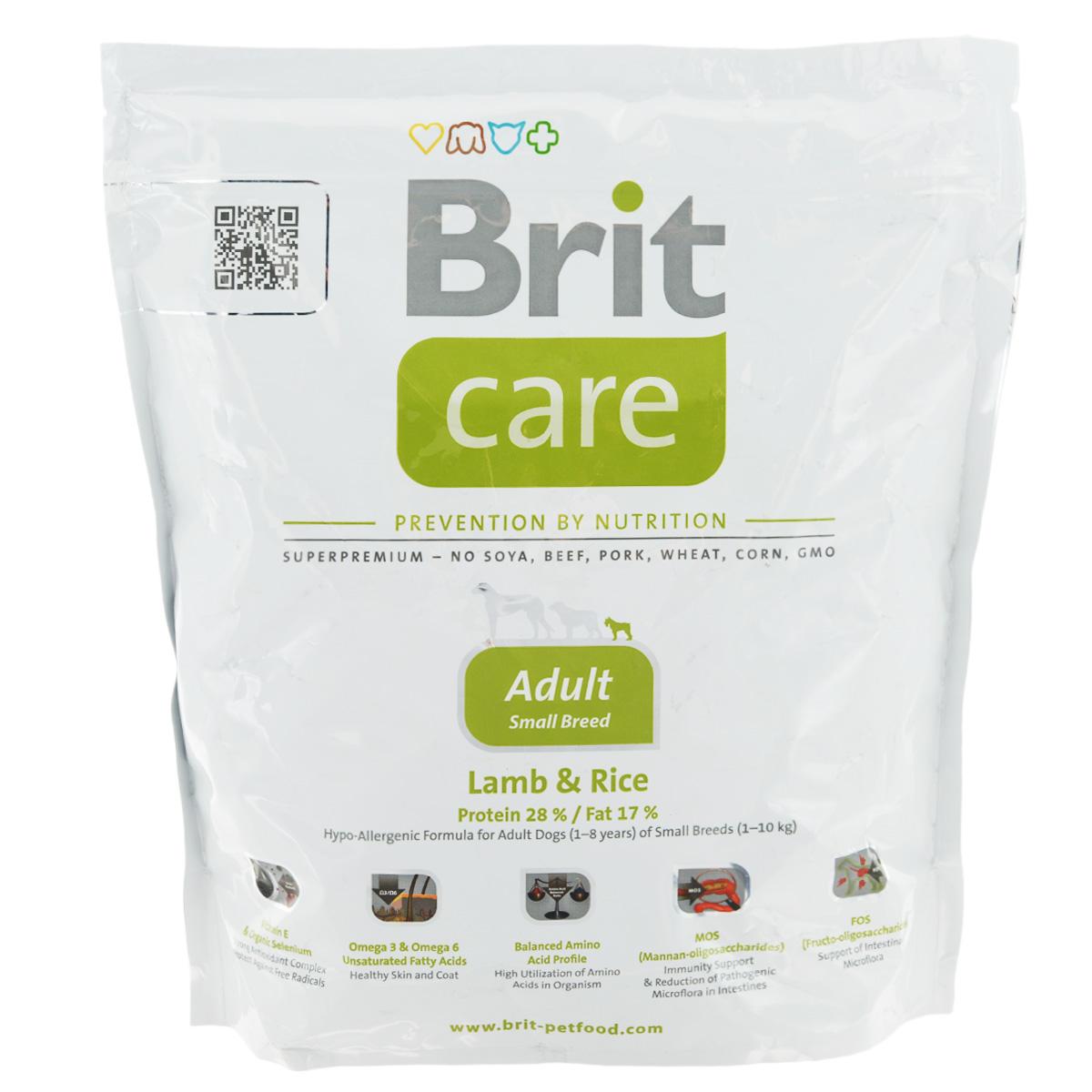 Корм сухой Brit Care
