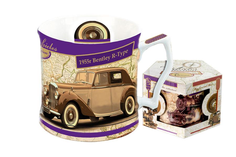 Кружка Carmani Бентли 1955 г, 450 млCAR2-016-0005-ALКружка Carmani Бентли 1955 г выполнена из высококачественного фарфора и оформлена красочным изображением машины. Такая кружка сделает чаепитие еще приятнее. Может послужить приятным и практичным сувениром.