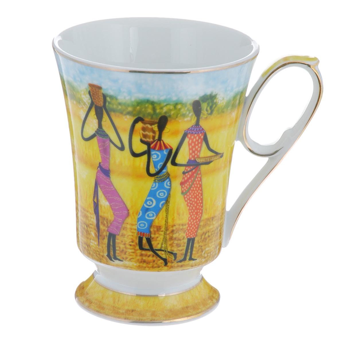Кружка Lillo Африканские девушки, 300 млTS 1163Кружка Lillo Африканские девушки выполнена из высококачественного фарфора и украшена изображением трех девушек в ярких костюмах. На ручке и по краю кружки имеется золотистая кайма. Такая кружка порадует вас дизайном и функциональностью, а пить чай или кофе из нее станет еще приятнее. Остерегайтесь сильных ударов. Не применять абразивные чистящие средства.