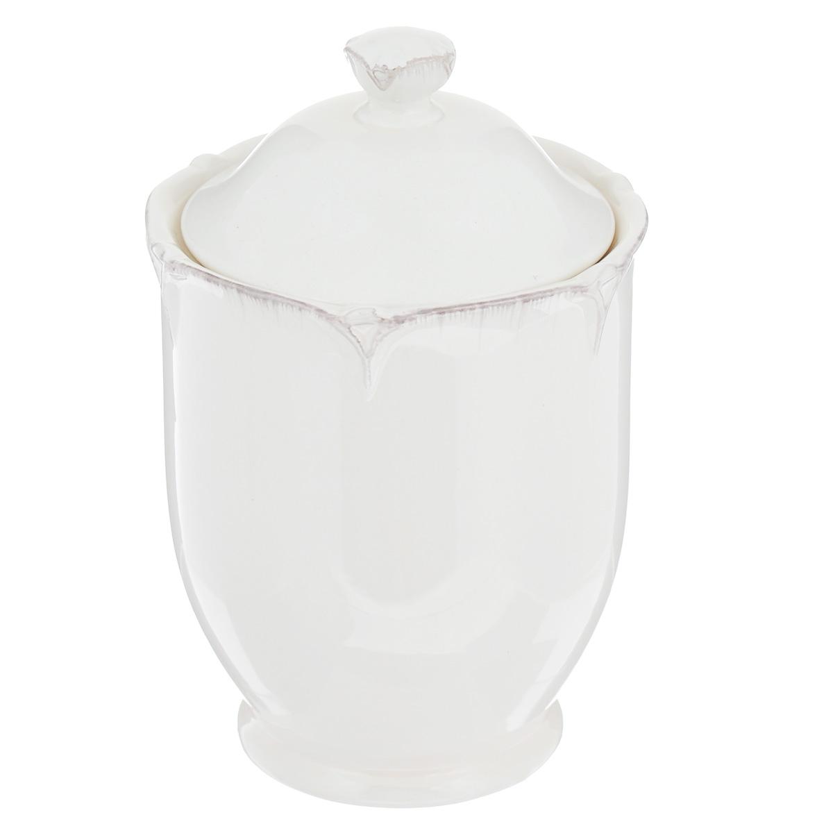 Банка для сыпучих продуктов Lillo Ideal, цвет: молочный, 700 мл214953Банка для сыпучих продуктов Lillo Ideal изготовлена из высококачественной керамики. Банка оснащена плотно закрывающейся крышкой с термоусадкой. Благодаря этому внутри сохраняется герметичность, и продукты дольше остаются свежими. Изделие предназначено для хранения различных сыпучих продуктов: круп, чая, сахара, орехов и многого другого. Функциональная и вместительная, такая банка станет незаменимым аксессуаром на любой кухне. Можно мыть в посудомоечной машине. Объем: 700 мл. Диаметр (по верхнему краю): 8,5 см. Высота банки (без учета крышки): 13 см.