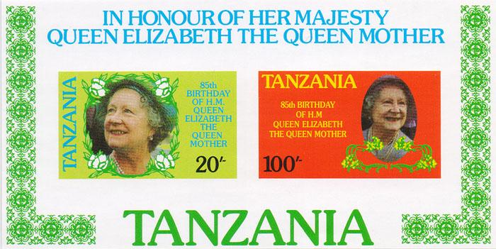 Почтовый блок №2 К 85-летию королевы Елизаветы. Танзания, 2011 годK421306Почтовый блок №2 К 85-летию королевы Елизаветы. Танзания, 2011 год. Размер блока: 6.5 х 12.5 см. Размер марок: 3 х 4.5 см. Сохранность хорошая.