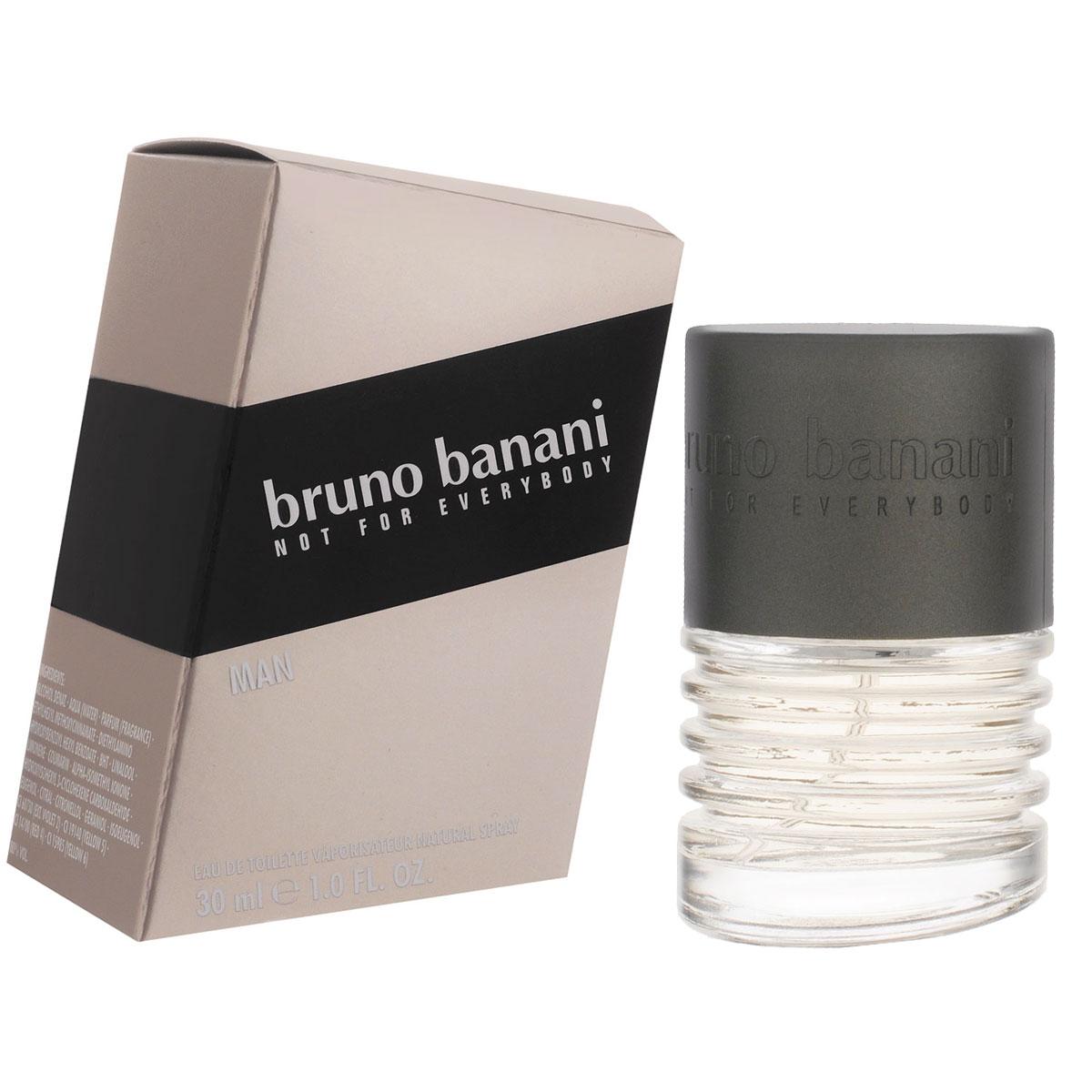 Bruno Banani Туалетная вода Man, мужская, 30 мл0737052755229Man - самый мужественный и серьезный аромат самого несерьезного бренда Bruno Banani. Свежий, неподвластный времени аромат для уверенных в себе, беззаботных мужчин. Классификация аромата : фужерный. Пирамида аромата : Верхние ноты: лаванда, базилик, бадьян. Ноты сердца: кофе, тмин, гвоздика, гелиотроп. Ноты шлейфа: бобы тонка, пачули, ваниль, кедр. Ключевые слова Свежий, яркий, беззаботный! Туалетная вода - один из самых популярных видов парфюмерной продукции. Туалетная вода содержит 4-10% парфюмерного экстракта. Главные достоинства данного типа продукции заключаются в доступной цене, разнообразии форматов (как правило, 30, 50, 75, 100 мл), удобстве использования (чаще всего - спрей). Идеальна для дневного использования. Товар сертифицирован.