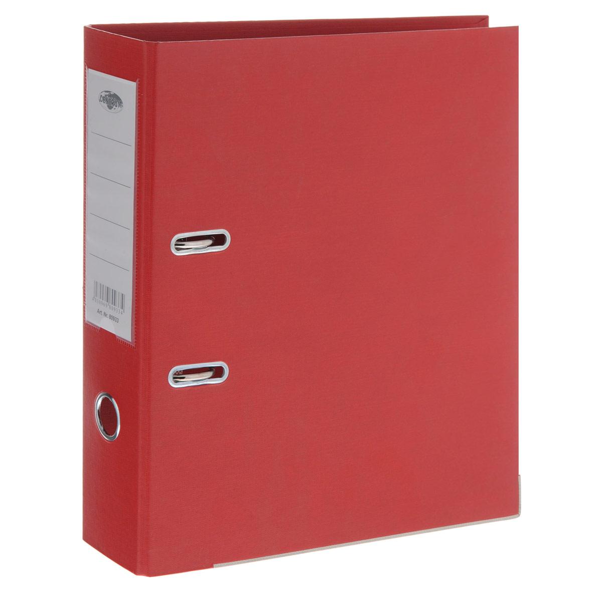 Папка-регистратор Centrum, ширина корешка 75 мм, цвет: красный80933