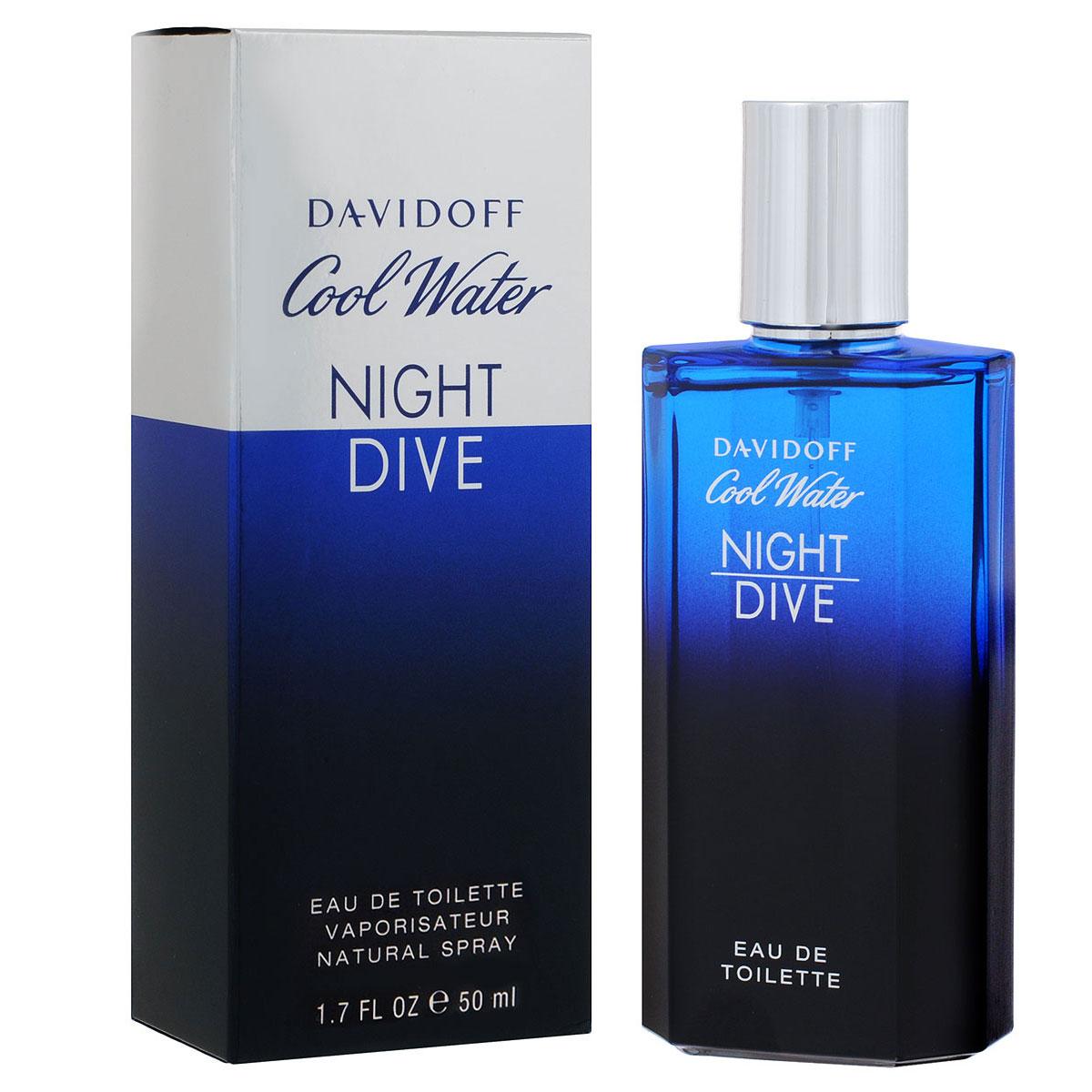 "Davidoff ��������� ���� ""Cool Water Night Dive"", �������, 50 ��"