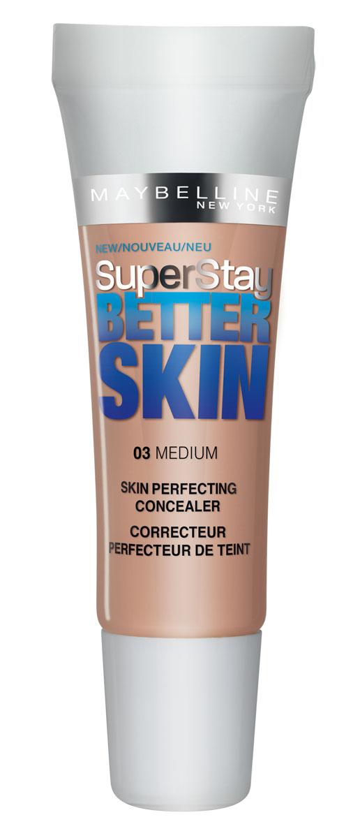 Maybelline New York Консилер Better Skin, стойкий, тон 03 Натурально-Бежевый, 11 млB2327551Maybelline New York Консилер Better Skin, тон 03, Натурально-Бежевый, 11 мл