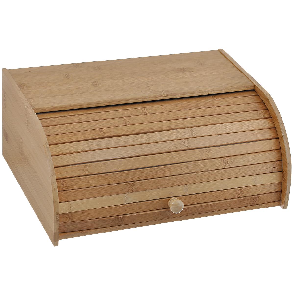 Хлебница Oriental Way, 40 см х 27,5 см х 16,5 смNL112082Хлебница Oriental Way, выполненная в классическом дизайне из бамбука, позволит сохранить ваш хлеб свежим и вкусным. Бамбук - очень гигиеничный материал, он не впитывает запахи, не рассыхается и обладает антибактериальными свойствами. Эксклюзивный дизайн, эстетика и функциональность хлебницы делают ее превосходным аксессуаром на вашей кухне.