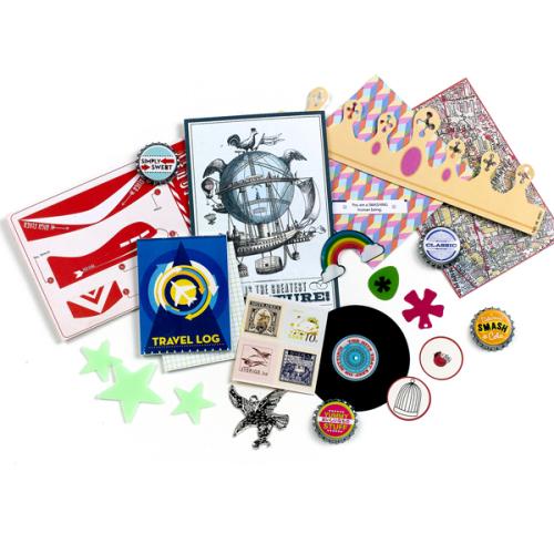 Набор украшений для скрапбукинга K&Company Классический, 29 предметовKCO-30-672017Набор украшений для скрапбукинга K&Company Классический позволит создать красивый альбом, фоторамку, открытку, он также подходит для оформления папки- альбома серии Smash. В наборе имеется прекрасная подборка стикеров интересных дизайнов, крышечек бутылок, наклеек и другое. Скрапбукинг - это хобби, которое способно приносить массу приятных эмоций не только человеку, который этим занимается, но и его близким, друзьям, родным. Это невероятно увлекательное занятие, которое поможет вам сохранить наиболее памятные и яркие моменты вашей жизни, а также интересно оформить интерьер дома. Комплектация: 29 предмет