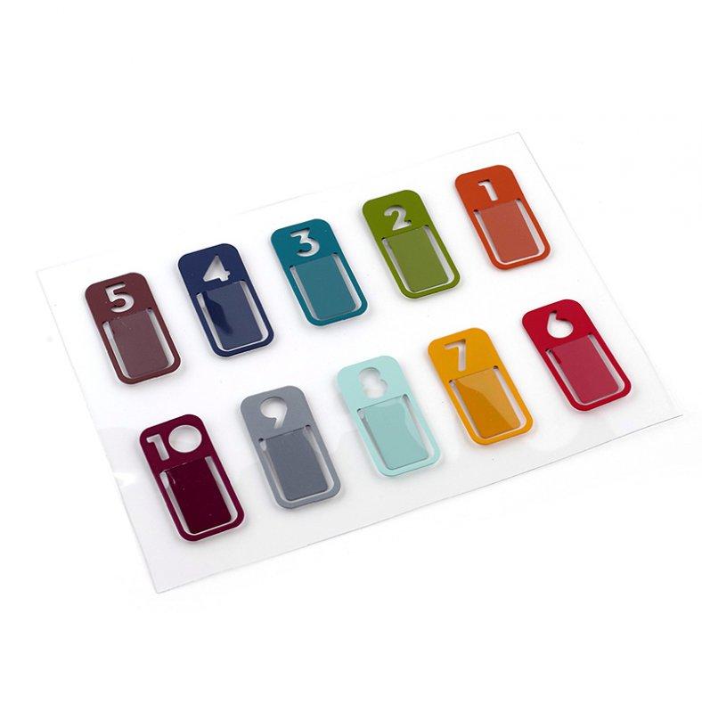 Скрепки-украшения K&Company Цифры, 10 штKCO-30-681705Скрепки-украшения K&Company Цифры изготовлены из металла и используются в скрапбукинге для украшения фотоальбомов, подарков, фоторамок, открыток, в декоре. С их помощью легко прикрепить к странице фотографию, заметки, билетики. Набор содержит 10 разноцветных скрепок, декорированных сквозными отверстиями в форме цифр. Скрапбукинг - это хобби, которое способно приносить массу приятных эмоций не только человеку, который этим занимается, но и его близким, друзьям, родным. Это невероятно увлекательное занятие, которое поможет вам сохранить наиболее памятные и яркие моменты вашей жизни, а также интересно оформить интерьер дома.