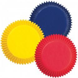 Набор бумажных форм для кексов Wilton Яркие цвета, диаметр 5 см, 75 штWLT-415-987Набор Wilton Яркие цвета состоит из 75 бумажных форм для кексов. Они предназначены для выпечки и упаковки кондитерских изделий, также могут использоваться для сервировки орешков, конфет и др. Формы не требуют предварительной смазки маслом или жиром. Для одноразового применения. Гофрированные бумажные формы идеальны для выпечки кексов, булочек и пирожных. Высота стенки: 3 см. Комплектация: 75 шт.