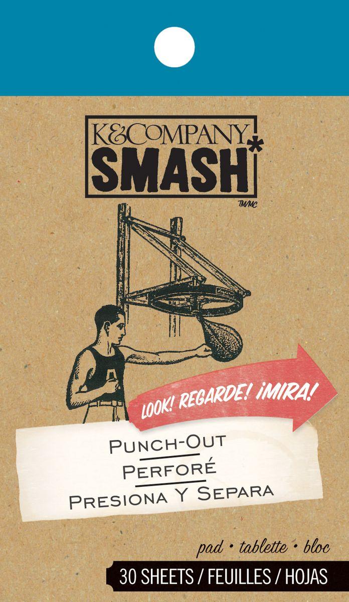 Блокнот для записей K&Company Smash Вырубка, 30 листовKCO-30-671645Блокнот K&Company Smash Вырубка изготовлен из бумаги и содержит 30 дизайнерских листов. Предназначен для записей. Изделие идеально подходит для оформления папки серии Smash, а также для скрапбукинга. Блокнот имеет небольшое отверстие для подвешивания. Количество листов: 30 шт. Размер блокнота: 12 см х 7 см.