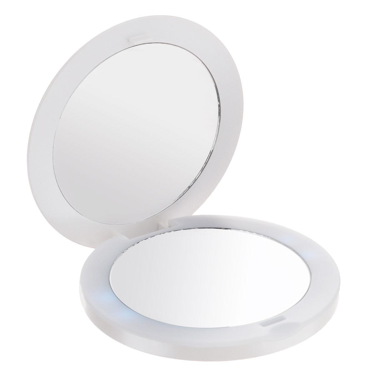Touchbeauty Компактное двойное зеркало, с подсветкой. AS-1275
