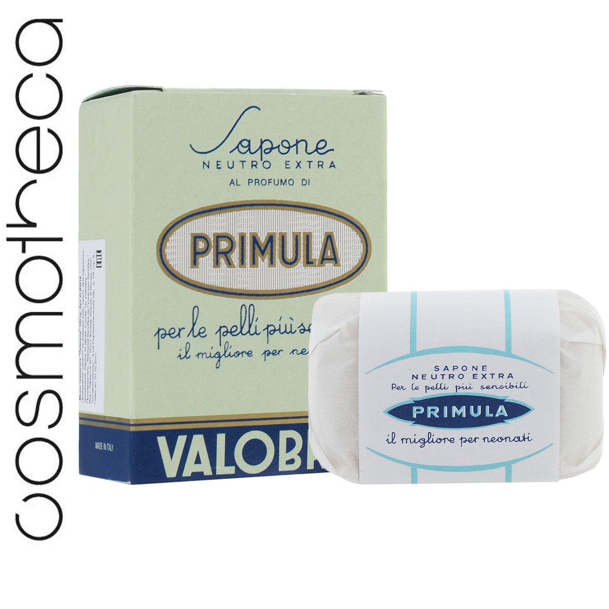 Valobra Мыло туалетное Примула, 100 гVLB0016Благодаря высокому содержанию витаминов и лецитина мыло Примула делает кожу мягкой и красивой. Подходит для маленьких детей и для очень нежной кожи. Товар сертифицирован.