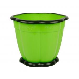 Горшок для цветов Альтернатива Восторг, цвет: зеленый, 3 л, диаметр 20 смМ1219Цветочный горшок Альтернатива Восторг выполнен из пластика и предназначен для выращивания в нем цветов, растений и трав. Такой горшок порадует вас современным дизайном и функциональностью, а также оригинально украсит интерьер помещения. К горшку прилагается поддон. Размер горшка: 20 см х 20 см х 16,5 см.