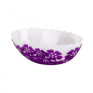 Салатник 1,3л Камелия овал фиолетМ2515Салатник 1,3л Камелия овал фиолет Пластик