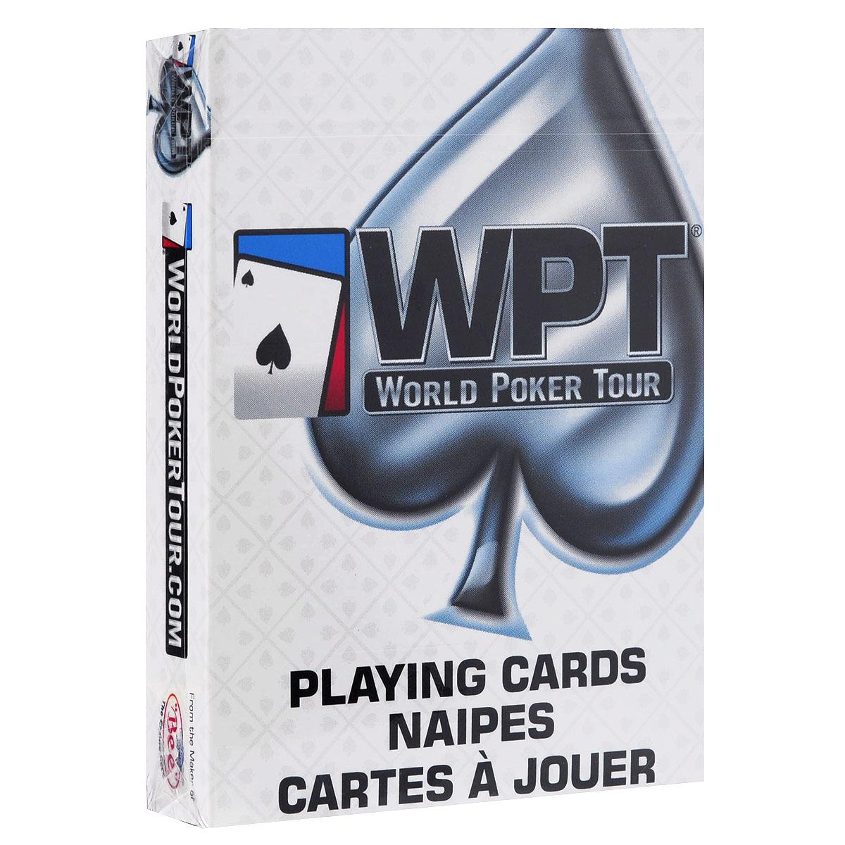Карты игральные Bicycle World Poker Tour, цвет: белый, 54 карты. 9200б9200б
