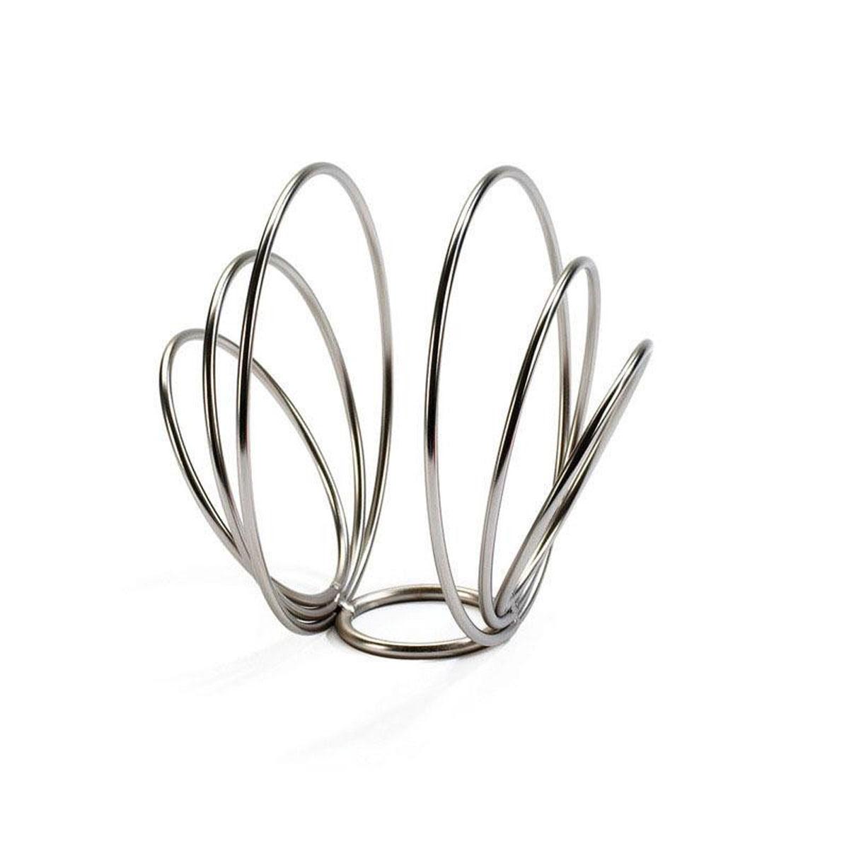 Салфетница Umbra Rings, 12 х 14 см330050-410Салфетница Umbra Rings выполнена из никеля. Салфетница отличается устойчивостью и вместительностью, а современный дизайн прекрасно впишется в интерьер вашей кухни. Размер салфетницы: 12 см х 14 см х 14 см.