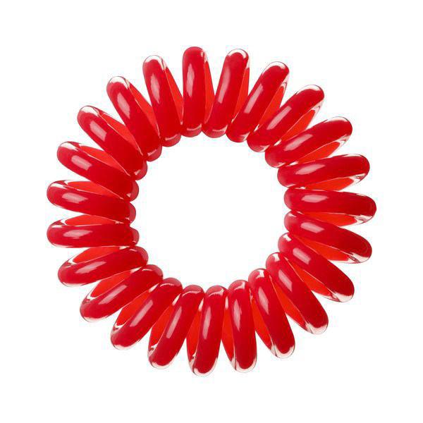 Invisibobble Резинка-браслет для волос Raspberry Red, 3 шт3006Столь необычная форма браслетов-резинок Invisibobble дает множество преимуществ. Резинка не оставляет заломов на волосах. При длительном ношении, например целый день, снимая резинку вы не почувствуете усталость волос. Оригинально смотрится на волосах. Отлично сохраняет свою форму и надежно фиксирует прическу. Не мокнет. Не травмируют волосы, в отличии от обычных резинок, нет трения, зажимов отдельных волосков или прядей. Подходят как для любого типа волос, так и не имеют ограничений по возрасту. Вам понравятся яркие цвета, а так же их можно использовать как стильные браслеты. Товар сертифицирован.