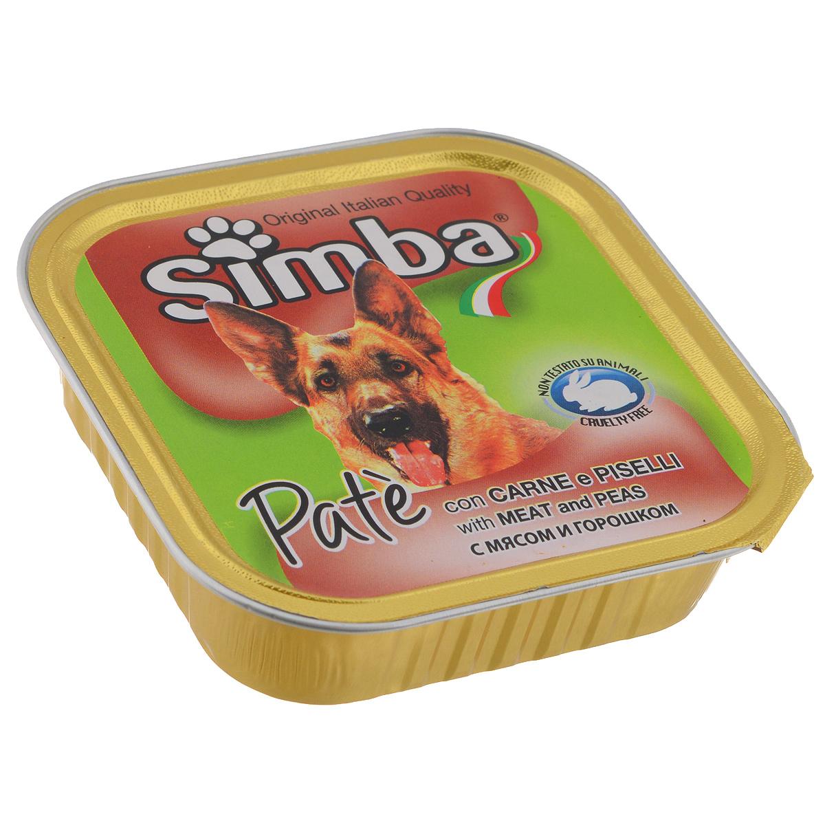 Консервы для собак Monge Simba, с телятиной и горошком, 150 г70009256Консервы для собак Monge Simba - это полноценное питание для собак. Паштет с телятиной и горошком. Для собаки среднего размера порция при каждом кормлении составляет 300 г. Состав: мясо и мясные субпродукты (в том числе телятина 7,5%), овощи (горошек 4,5%), минеральные вещества, витамины, технологические добавки - загустители и желирующие вещества. Анализ компонентов: сырой белок 9%, сырой жир 7,5%, сырая клетчатка 0,4%, зола 2,1%, влажность 81%. Витамины и добавки на 1 кг: витамин А 2500 МЕ, витамин D3 200 МЕ, витамин Е 5 мг. Товар сертифицирован.