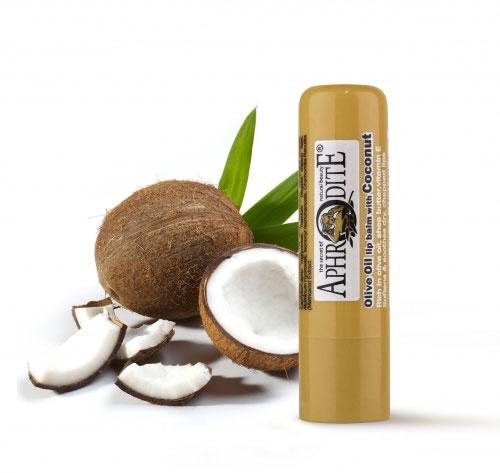 Aphrodite Гигиеническая губная помада с кокосом, 4 гZ-48Сохраняет губы красивыми, свежими и здоровыми. С ароматом кокоса. Не содержит парабен, Не содержит глицерин. SPF 10