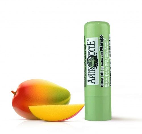 Aphrodite Гигиеническая губная помада с манго, 4 гZ-47Сохраняет губы красивыми, свежими и здоровыми. Аромат сочного манго наполнит вас радостью. Не содержит парабен, Не содержит глицерин. SPF 10