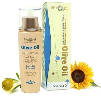 Aphrodite SPA-средство по уходу за лицом Olive Oil, 100 млZ-39Уникальное SPA-средство Aphrodite по уходу за лицом Olive Oil может использоваться как для очищения кожи и снятия макияжа, так и в качестве терапевтического средства для детоксификации кожи. Формула обогащена аргановым маслом для восстановления естественного иммунитета, маслом календулы, чтобы исключить раздражение и воспаление кожи. Рекомендовано для нормальной, сухой и чувствительной, зрелой кожи. Объем: 100 мл. Без парабенов и красителей. Товар сертифицирован.