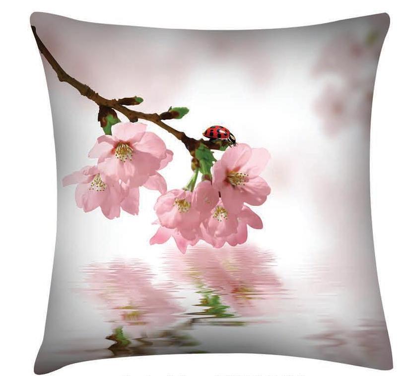 Подушка декоративная Garden Розовые цветы, 45 см х 45 смП w1822 v318Декоративная подушка Garden Розовые цветы - это яркое украшение вашего дома. Чехол выполнен из приятного на ощупь полиэстера. Чехол закрывается на молнию, поэтому подушку легко стирать. Внутри - мягкий наполнитель. Лицевая сторона подушки украшена красочным цветочным рисунком, задняя сторона - однотонного цвета. Стильная и яркая подушка эффектно украсит интерьер и добавит в привычную обстановку изысканность и роскошь.