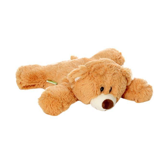 Мягкая игрушка-грелка Медведь, 30 смWA027Игрушка-грелка Медведь. Ее можно стирать, она выполнена из мягкого и прочного гипоаллергенного материала. Игрушка яркая, обязательно понравится вашему ребенку. Игра с ней будет полезна, так как внутри находятся гранулы лаванды, которые успокаивают и повышают сопротивляемость простудным заболеваниям, и гречихи, которые долго сохраняют тепло. Для превращения игрушки в грелку достаточно вставить в нее разогретый в СВЧ-печи вкладыш.
