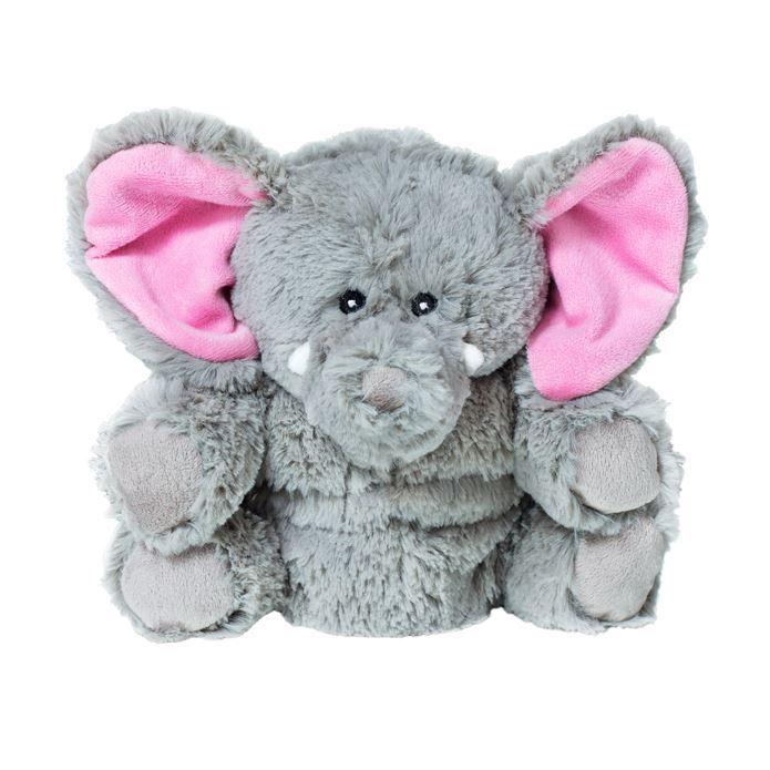 Мягкая игрушка-грелка Слон, 30 смWA038NИгрушка-грелка Слон. Ее можно стирать, она выполнена из мягкого и прочного гипоаллергенного материала. Игрушка яркая, обязательно понравится вашему ребенку. Игра с ней будет полезна, так как внутри находятся гранулы лаванды, которые успокаивают и повышают сопротивляемость простудным заболеваниям, и гречихи, которые долго сохраняют тепло. Для превращения игрушки в грелку достаточно вставить в нее разогретый в СВЧ-печи вкладыш.