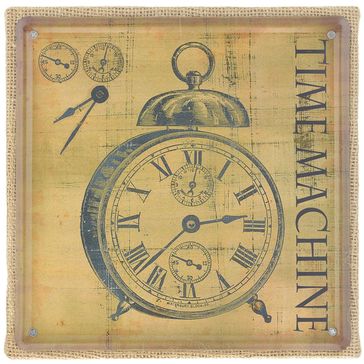 Постер в рамке Феникс-презент Часы, 20 см х 20 см37428Постер Феникс-презент Часы выполнен из черного металла в рамке из МДФ, которая обтянута натуральным льном. На постере изображены старинные часы и надпись Time machina. Постер в раме заинтересует всех любителей оригинальных вещиц и доставит массу положительных эмоций своему обладателю. Из мелочей складывается стиль интерьера. Постер в рамке Феникс-презент Часы одна из тех деталей, которые придают дому обжитой вид и создают ощущение уюта. Размер постера 20 см х 20 см. Размер с рамки: 21 см х 21 см х 2 см.