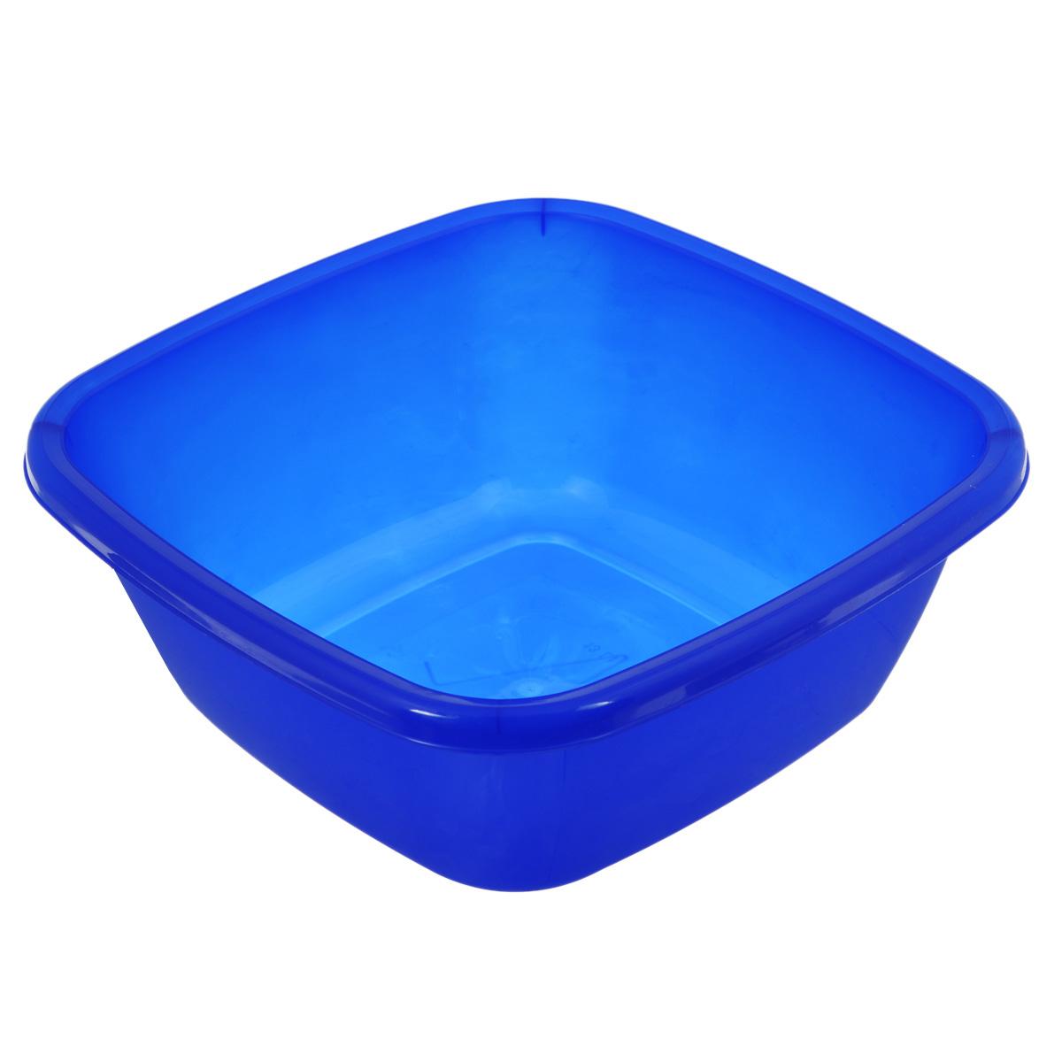 Таз Dunya Plastik, цвет: синий, 13 л. 1011910119Таз Dunya Plastik выполнен из прочного пластика. Он предназначен для стирки и хранения разных вещей. По бокам имеются удобные углубления, которые обеспечивают удобный захват. Таз пригодится в любом хозяйстве.