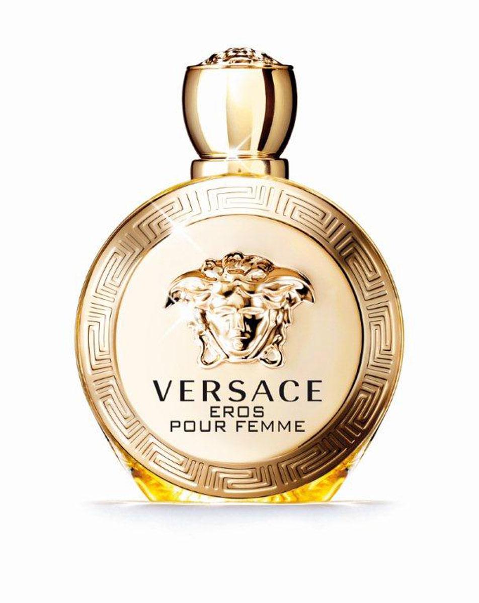 Versace Парфюмерная вода Eros Pour Femme, женская, 50 мл750030Новая легенда от Versace, повествующая о страсти. Бог любви Эрос встретил рожденную из воды прекрасную сирену и воспылал к ней любовью. Всепобеждающая власть женщины, заключенная в искрящемся и чувственном аромате. Созданный Донателлой Версаче, этот аромат излучает силу, индивидуальность и соблазн. Верхняя нота: Сицилийский лимон, Калабрийский бергамот, Гранат. Средняя нота: Цветок лимона, Абсолю жасмина Самбак, Эссенция жасмина, Пион. Шлейф: Сандаловое дерево, Амброксан, Мускус, Чувственные древесные ноты. Цветочный древесный мускусный. Всепобеждающая власть женщины, заключенная в искрящемся и чувственном аромате. Созданный Донателлой Версаче, этот аромат излучает силу, индивидуальность и соблазн.