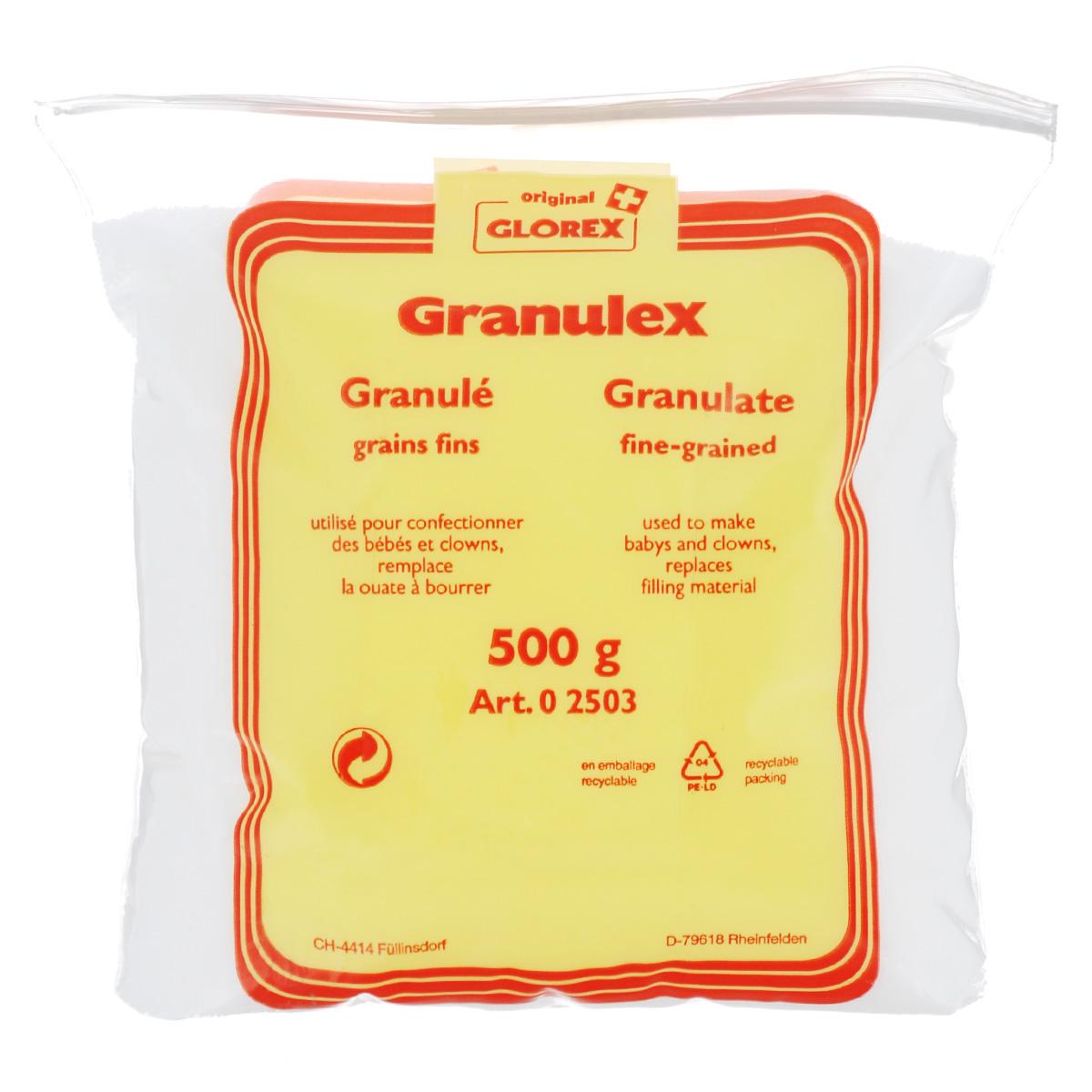 Наполнитель Glorex Granulex, мелкие гранулы, 500 г318440Наполнитель Glorex Granulex выполнен в виде мелких гранул и используется для набивки подушек, одеял и игрушек. Такой наполнитель прекрасно снимает стресс и волнение у взрослых, а у детишек развивает мелкую моторику.